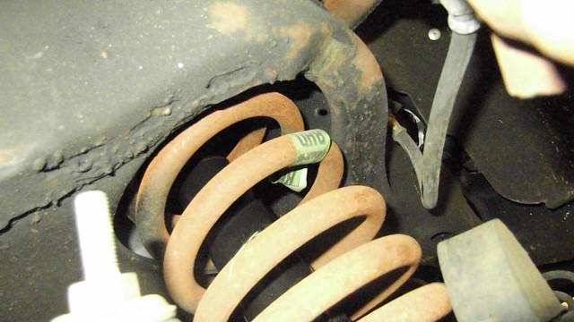 116 new shocks installed