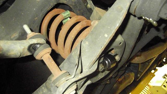 117 new shocks installed
