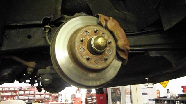 122 original riveted rotors