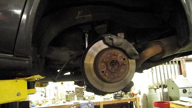 124 original riveted rotors