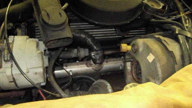 125 master cylinder removed for inspection