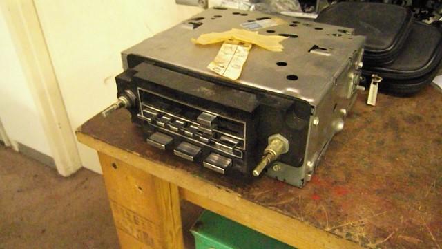 134 radio removed