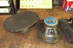 132 rear speakers removed