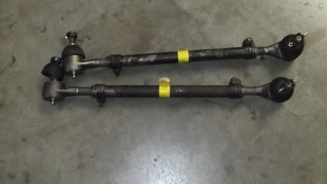 137 tie rods rebuilt with new ends