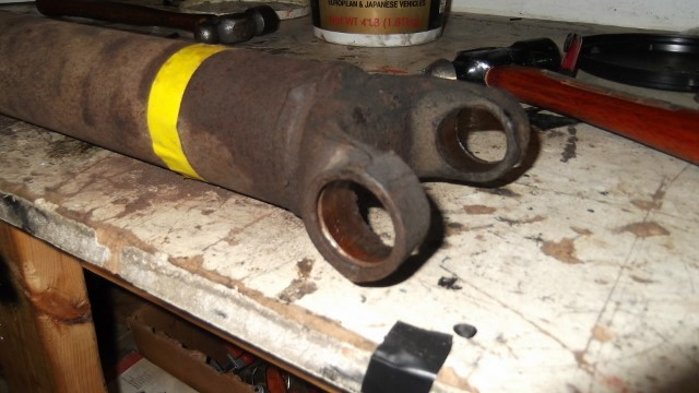 188 drive shaft before rework