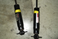 111 non matching front shocks removed