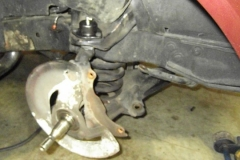 149 control arms reinstalled