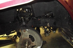 152 LH control arms and springs installed