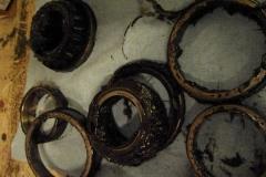 154 old wheel bearings