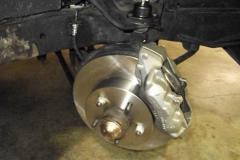 158 new rotors and calipers installed