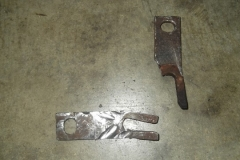 198 RH shims removed with sawzall and die grinder