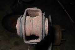 203 seized bolt worn bushing