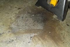 210 metal cut from inboard shims on floor