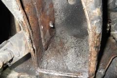 211 inboard pocket in frame once shims removed