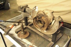 215 axle driven out notice parking brake condition