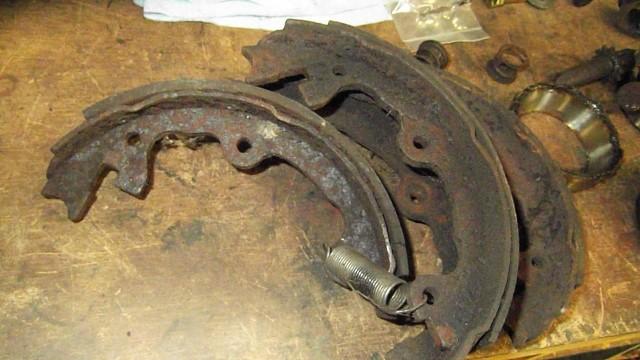 194 old parking brake parts
