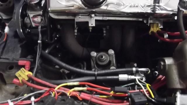 214 steering box installed