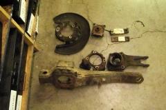196 RH trailing arm disassembled
