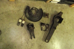 197 LH trailing arm disassembled