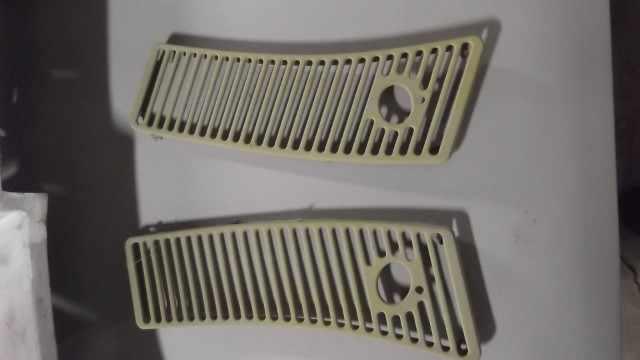 209 2 cowl grills ready for painter