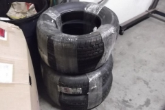117 new tires delivered