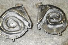 301 original horns removed