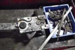 324 interior door parts removed