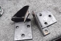 326 hood hinges removed - weak pivots loose