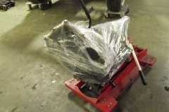 360 transmission wrapped for storage