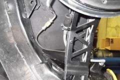 104 LR brake line home made shouldd be flex hose