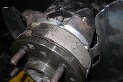 121 parking brake correct shoes installed