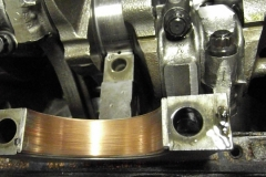 168 main bearing wear