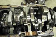 173 oil pan removed for inspection
