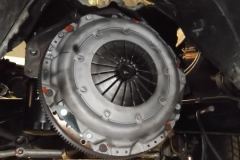 180 clutch assembly indexed and torqued