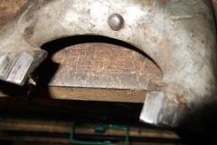 181 clutch fork removed worn