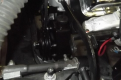 223 power steering pump temporarily installed