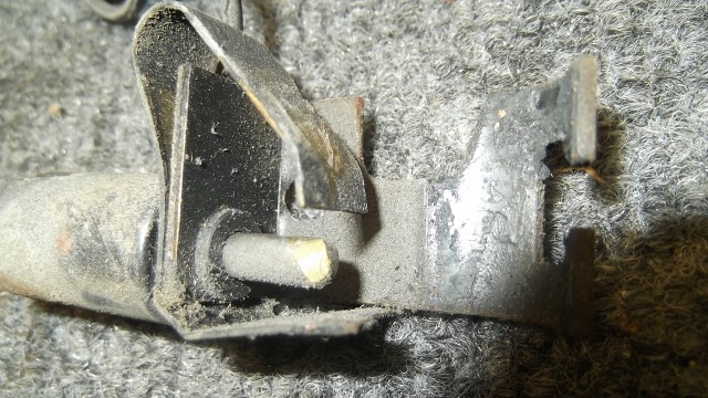 398 park brake switch has broken tang - will attempt to repair