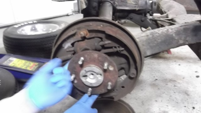 493 condition of brakes - solid rust