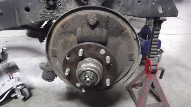 502 front brakes removed