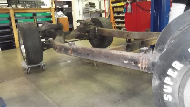 540 new shims and we marked the chassis for future reference
