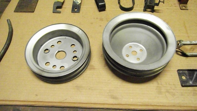 735 pulleys stripped