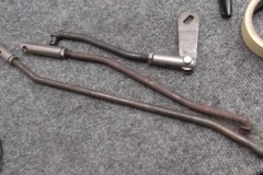 134 shifter linkage needs plated