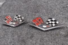 168 old side emblems
