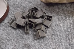 170 split window stainless clips