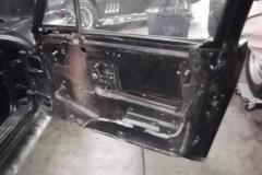 220 RH door panel removed