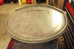 266 spare tire lid