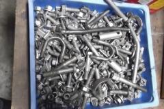 675 hardware after bead blasting