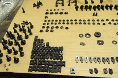 730 black phosphate plated original hardware