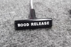 820 completed hood release handle