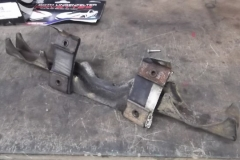 903 exhaust hanger as removed